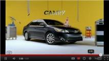 """VÍDEOS DO SUPER BOWL: Toyota """"reinventa"""" Camry"""