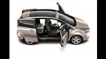 Ford B-Max aparece agora com as portas abertas