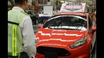Ford comemora 500 mil unidades do Fiesta produzidas no México