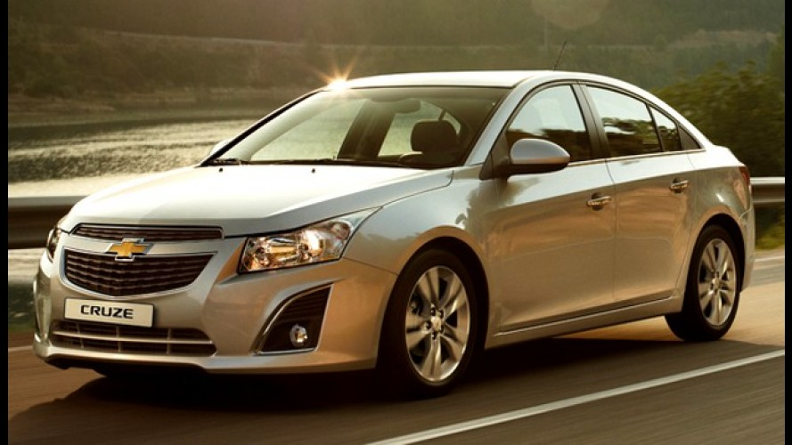 Argentina: Chevrolet faz recall do Cruze 2013