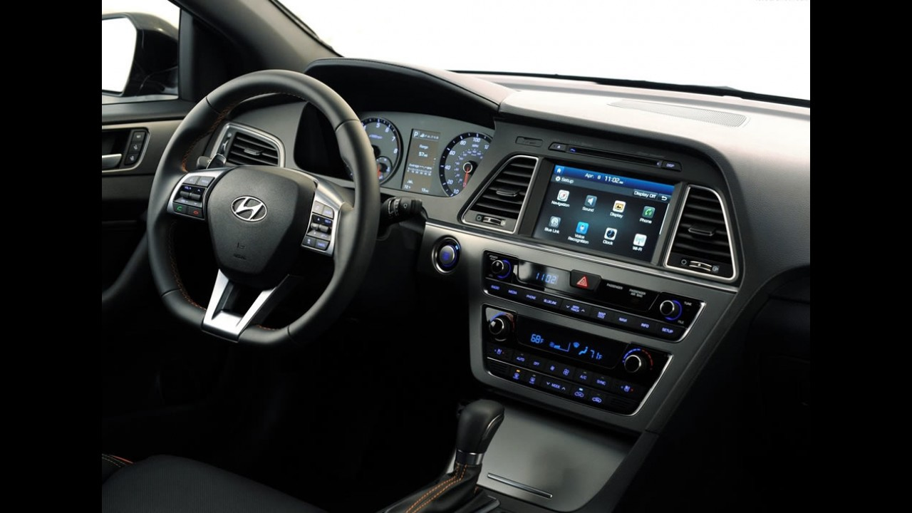 Hyundai Sonata ganhará facelift urgente para ficar menos