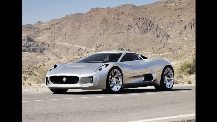 Salão de Paris: Jaguar revela o supercarro elétrico C-X75 Concept 2010