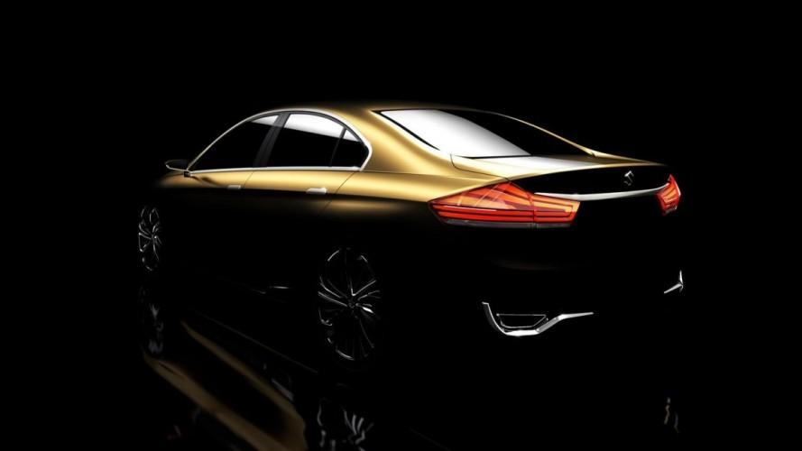 Suzuki apresentará sedã Authentics Concept no Salão de Xangai