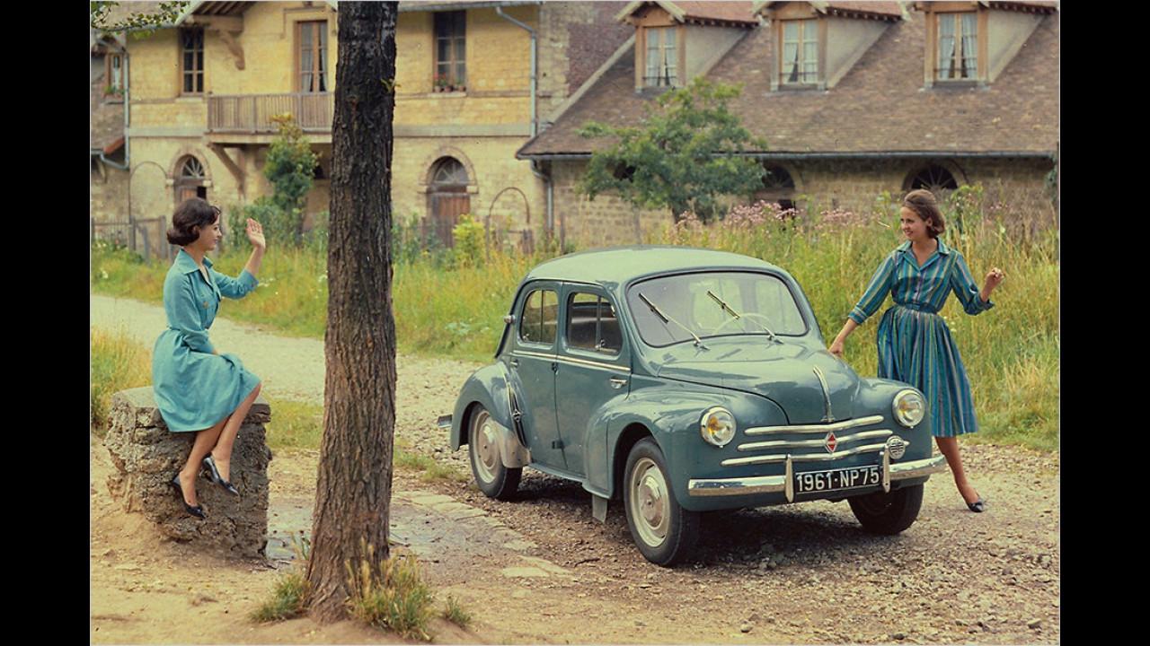Der Urvater der Alpine-Modelle: Renault 4CV