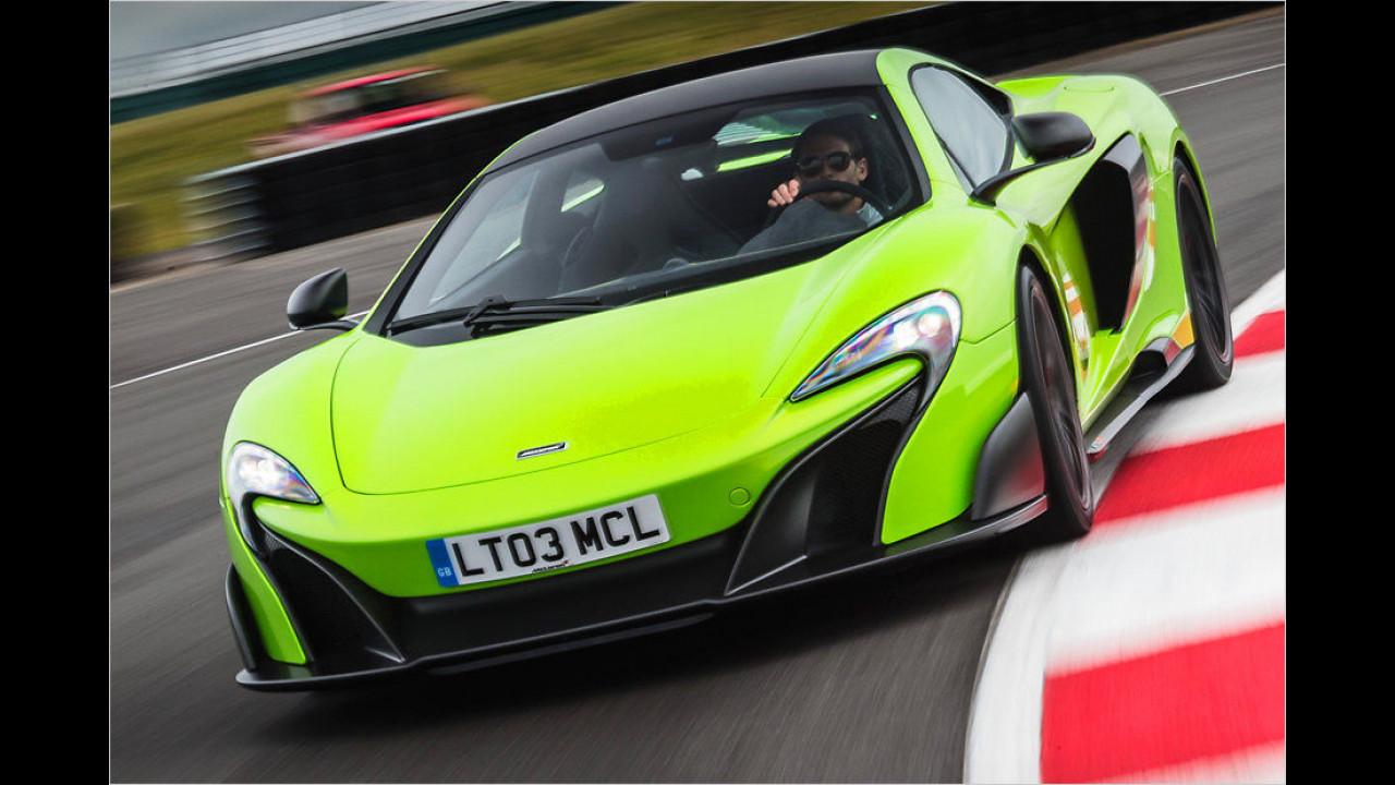 McLaren 675LT Coupé: 2,9 Sekunden