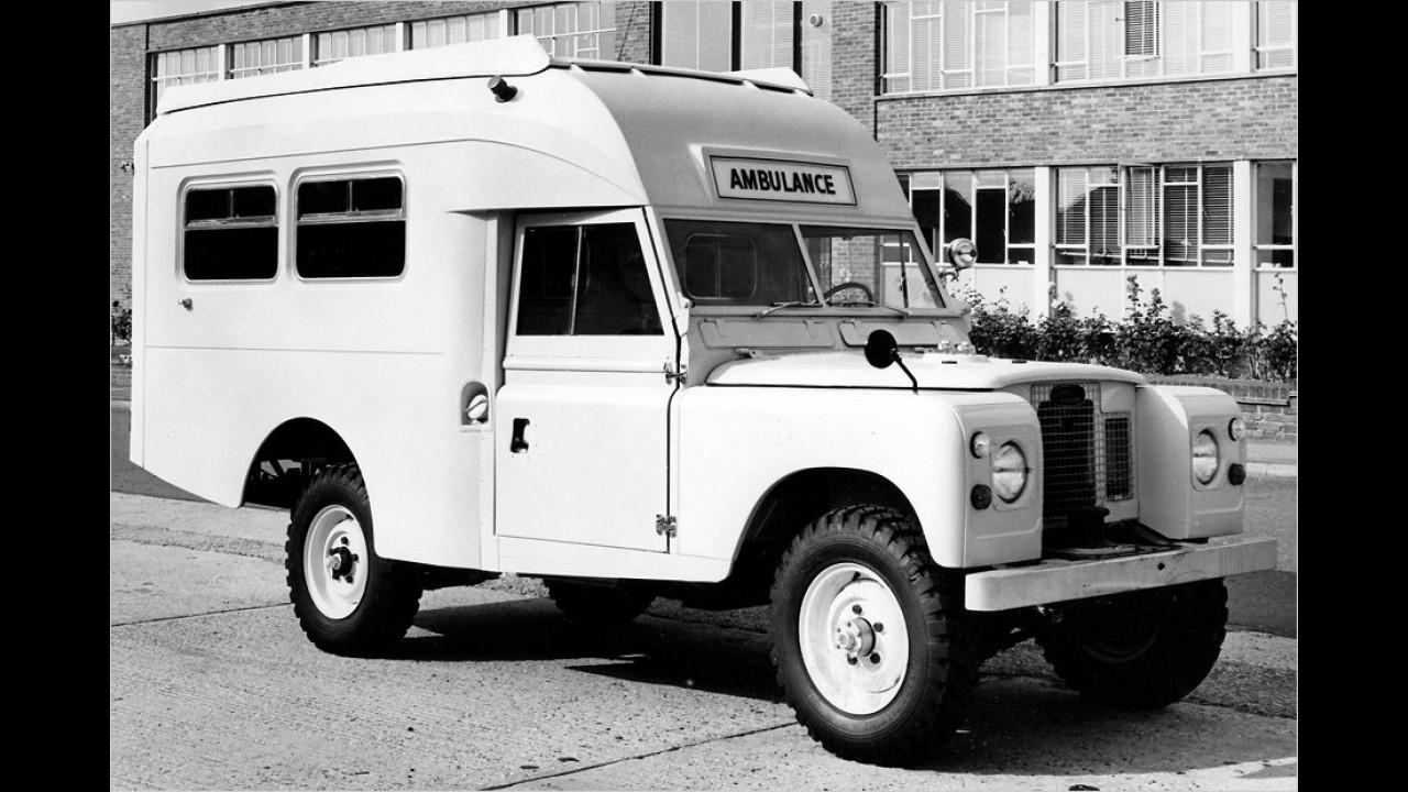 Land Rover Series II 109'' Ambulance Version