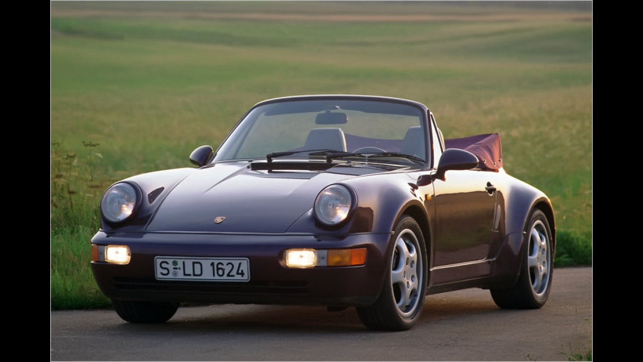 Porsche 911 Cabriolet (964; 1988-1994)