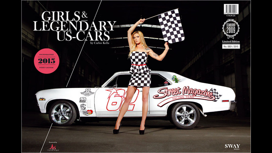 Girls & legendary US-Cars 2015 ist da