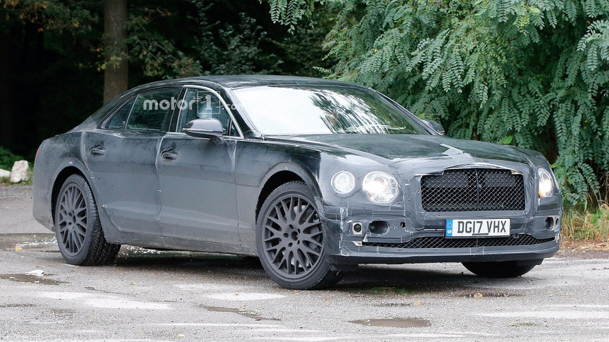 2019 Bentley Flying Spur bir kere daha yakalandı