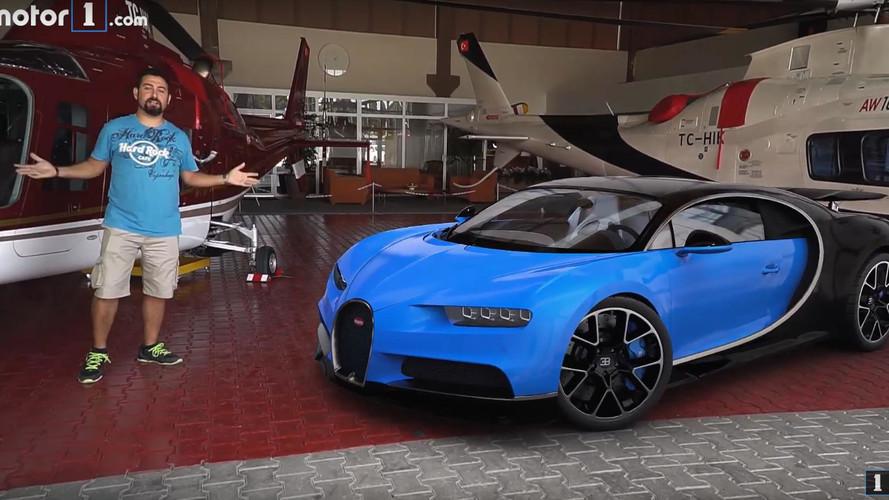 Bugatti Chiron'u İstanbul'da inceledik, ama nasıl?