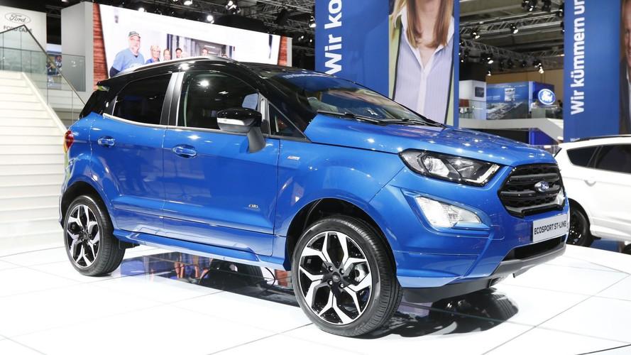 Le Ford EcoSport restylé se dévoile à Francfort