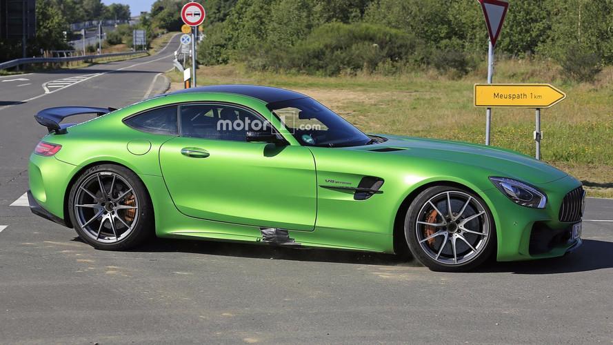 El Mercedes-AMG GT4 de producción ya rueda en Nürburgring