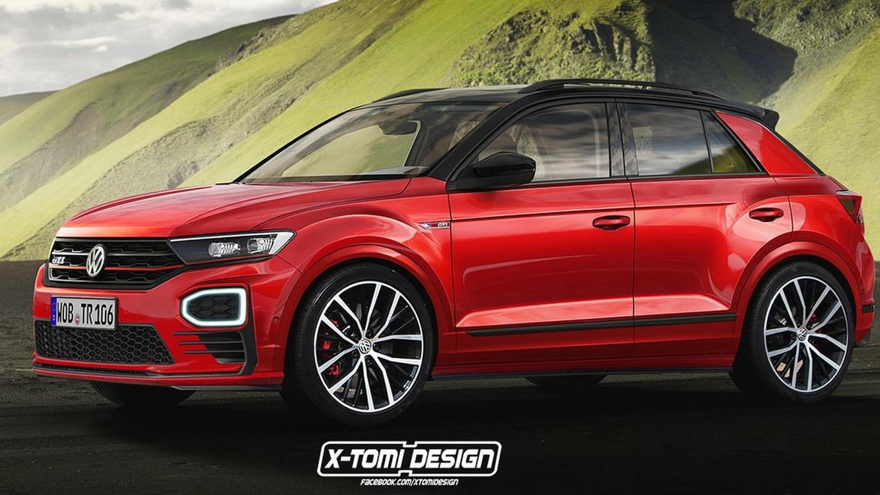 Volkswagen T-Roc GTI render