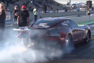 Watch This 3,500 HP Corvette C7 Stingray Speed Down the Track