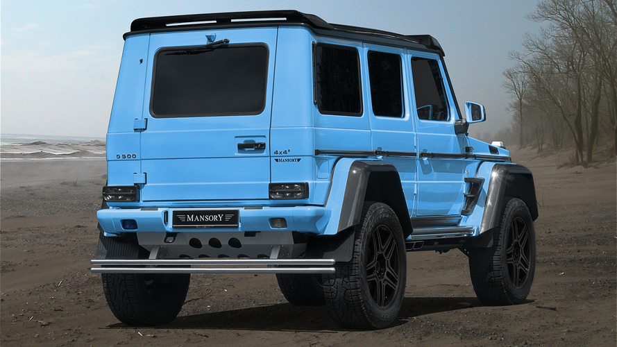 Mercedes-Benz G500 4X4 2 by Mansory