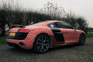 Watch Santa Gift Wrap an Audi R8, Go Drifting