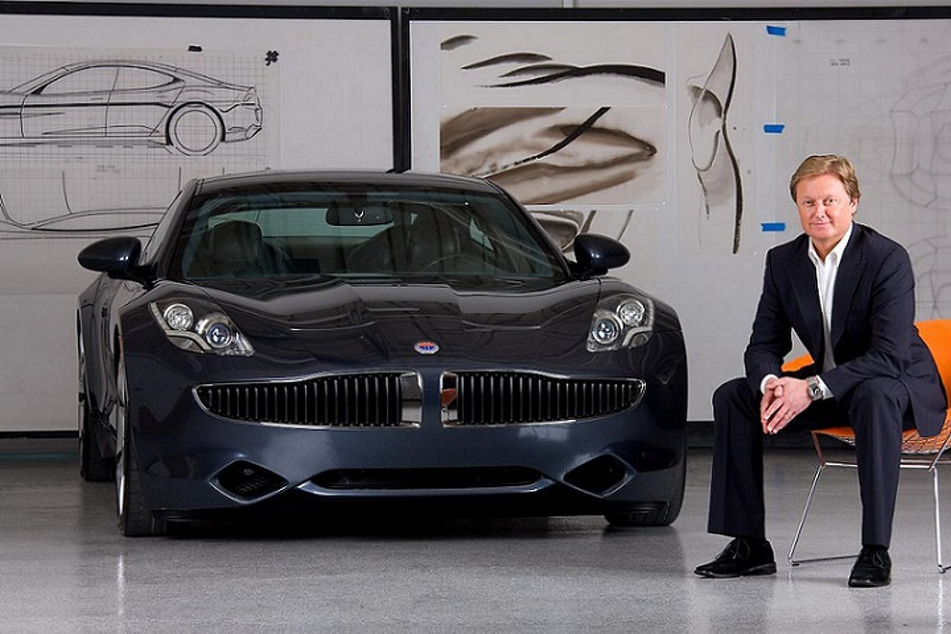 "Henrik Fisker To Debut New Supercar With One of the ""Highest Output Engines"""