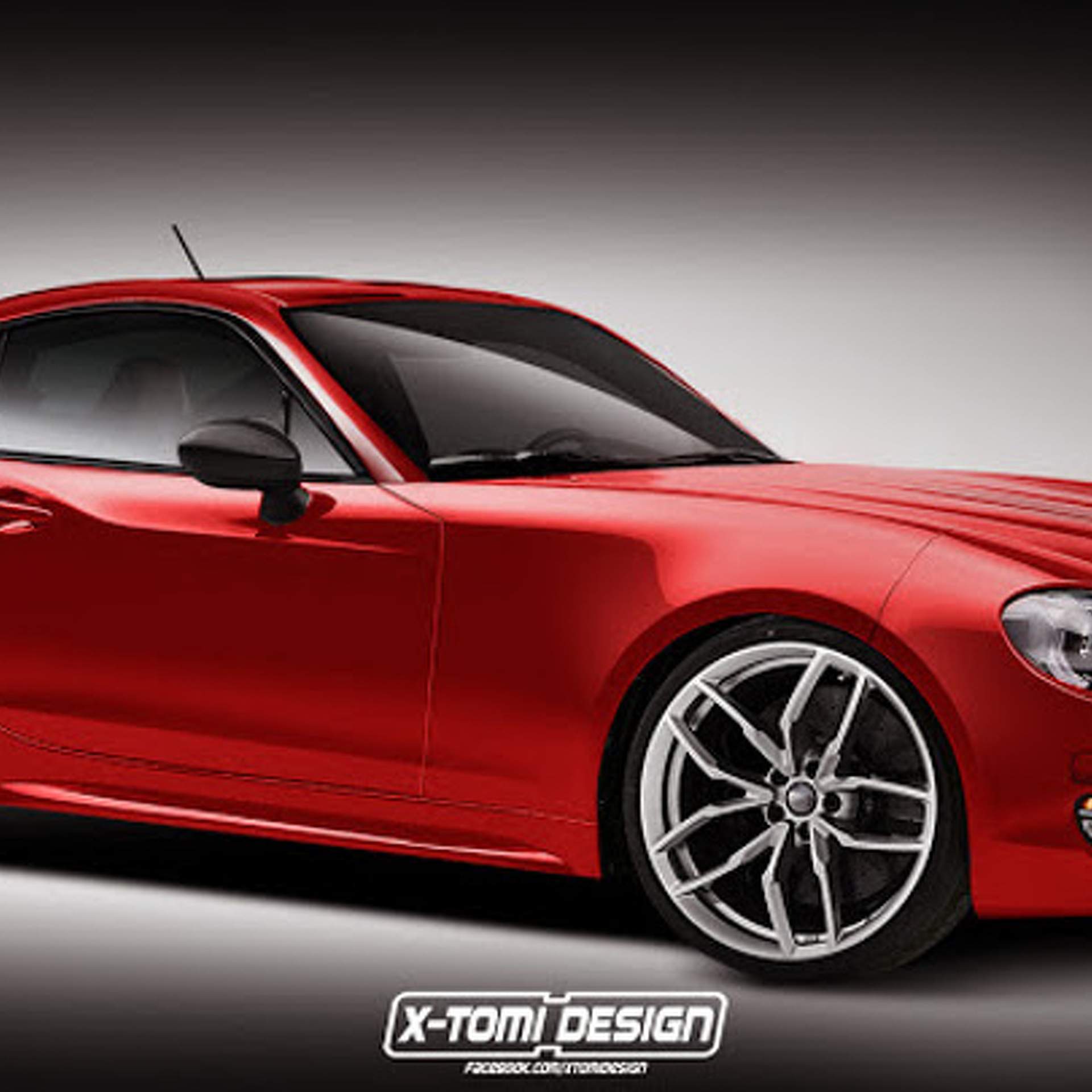 New Fiat 124 Spider Reimagined as a Datsun 240Z Coupe