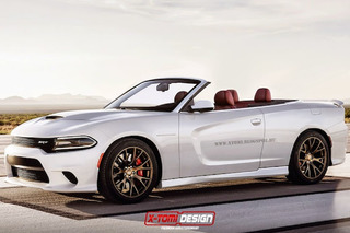 Dodge Charger Hellcat Goes Topless