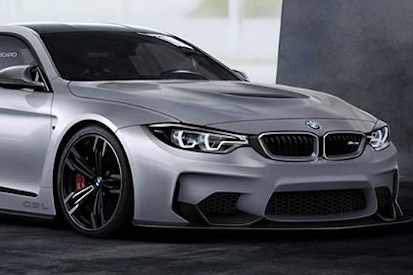 BMW M4 CSL Imagined