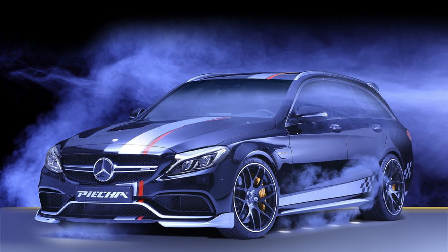 Piecha turns Mercedes-AMG C63 S Estate into 612-hp Rottweiler