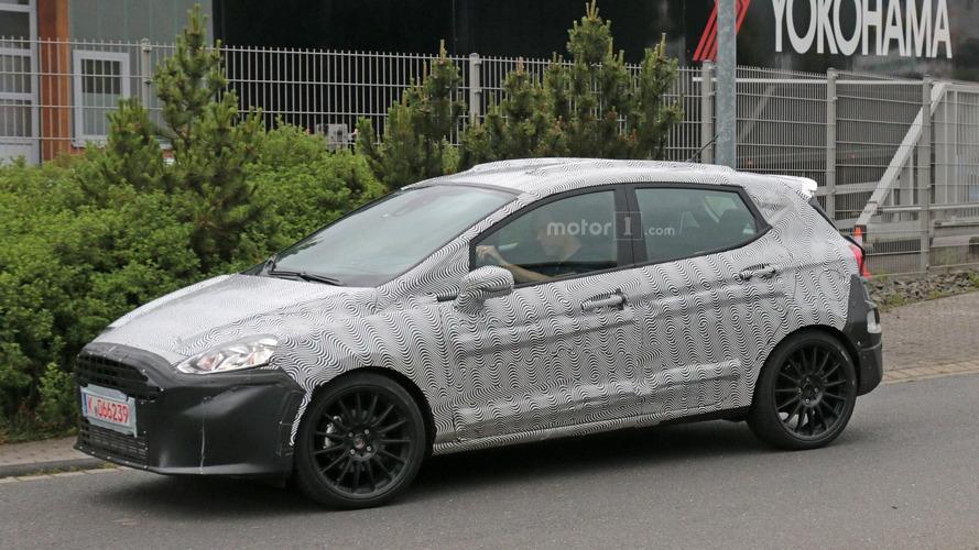 2018 Ford Fiesta ST spy photos