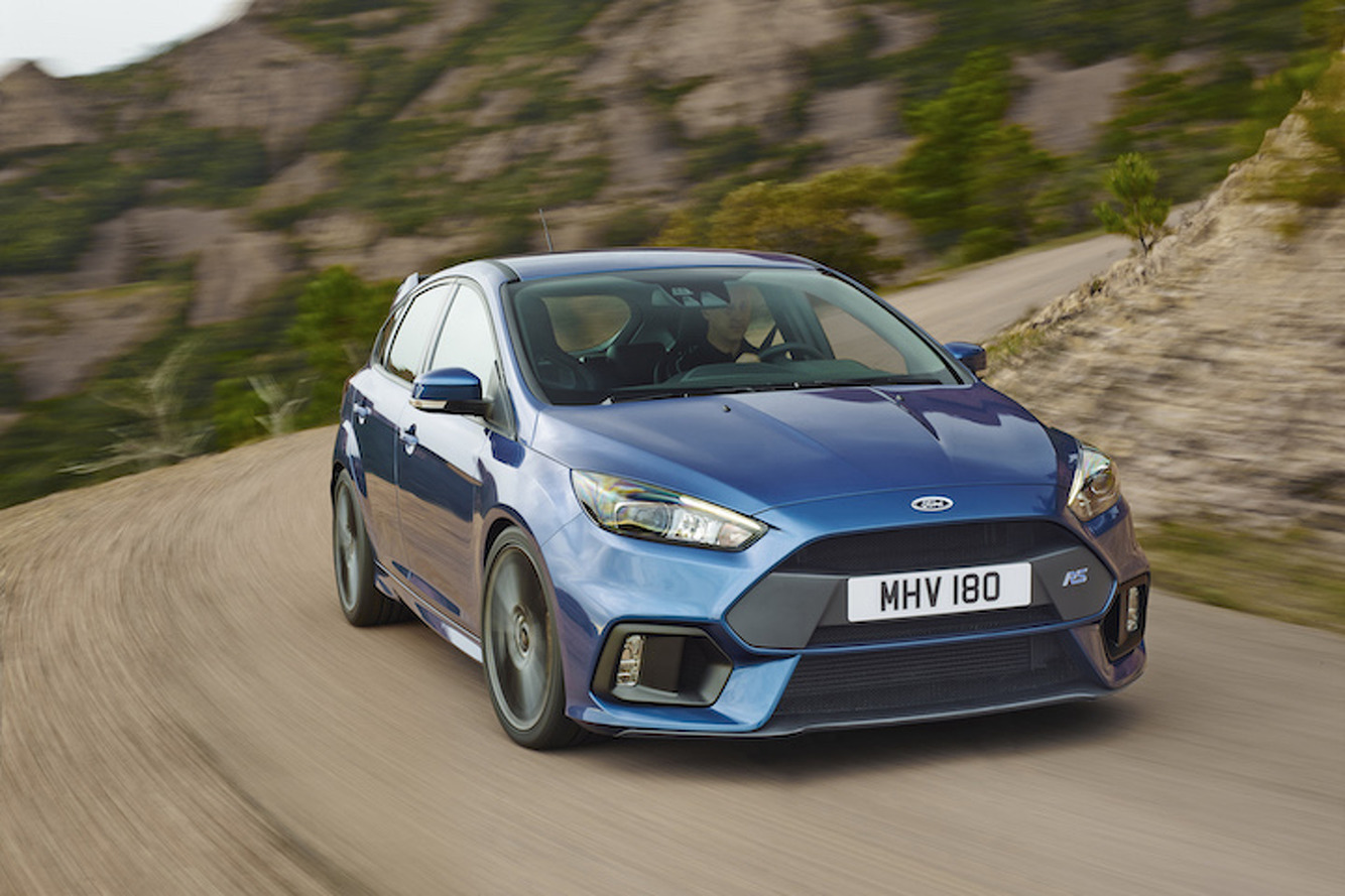 The 2016 Ford Focus RS Will Race to 60 in Under 5 Seconds
