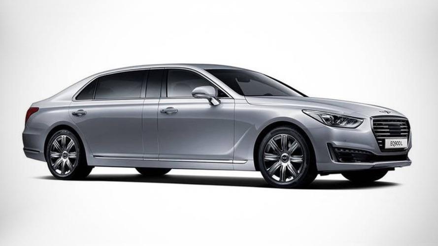 Genesis EQ900L introduced, longer than Mercedes-Maybach S Class