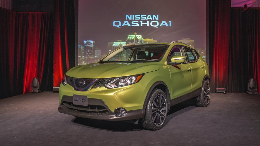 2017 Nissan Qashqai unveiled at Detroit Auto Show