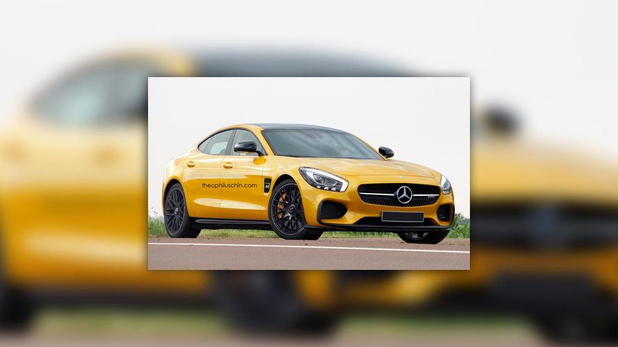 Mercedes-AMG, GT 4 adında bir süper sedan planlıyor olabilir