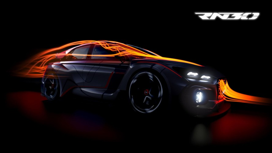 Rival do Golf GTI: Hyundai divulga teaser do hatchback esportivo RN30