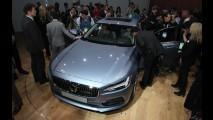 Salão de Detroit: tecnológico, novo Volvo S90 faz pré-estreia mundial