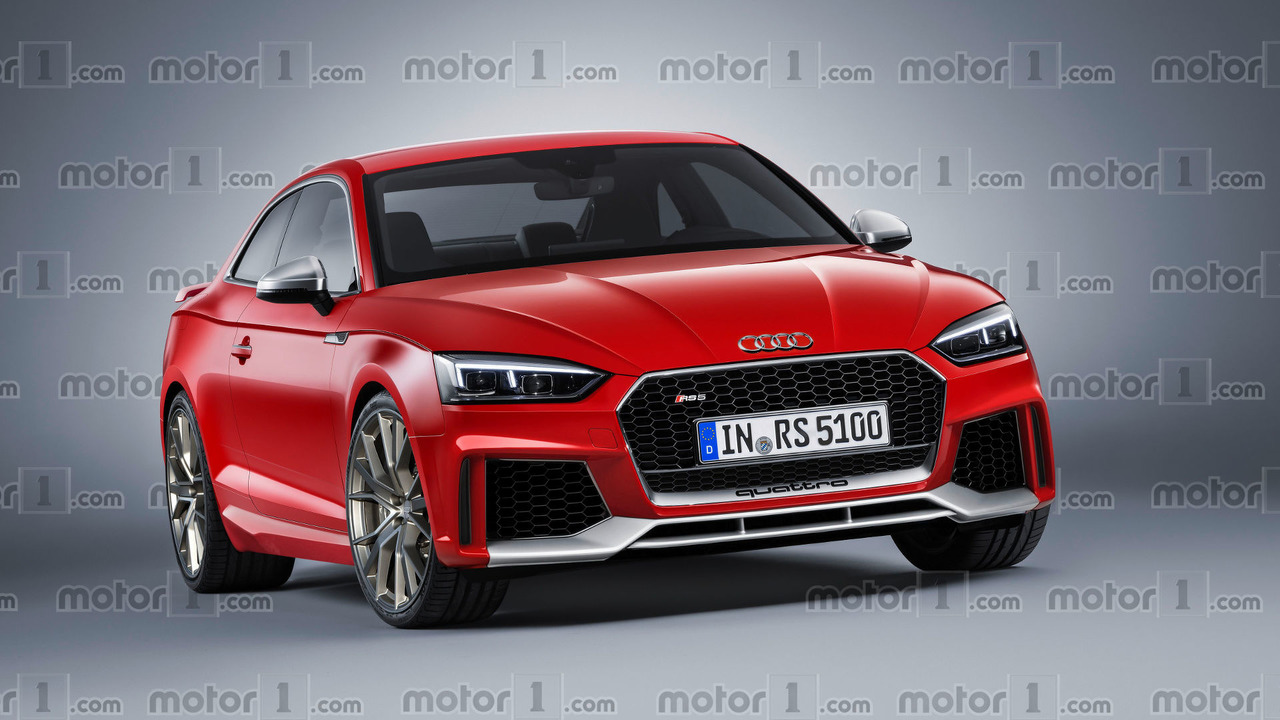 2018 Audi RS5 Coupe render