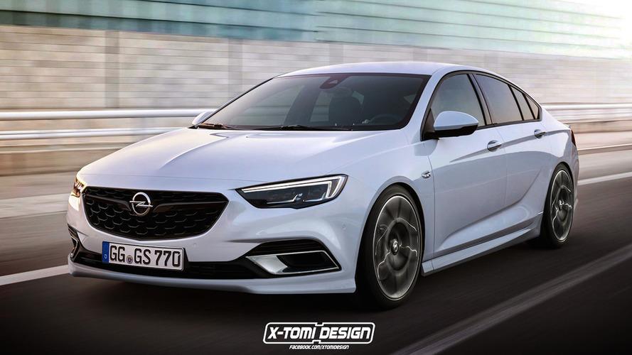 Opel Insignia Grand Sport OPC rendering looks encouraging