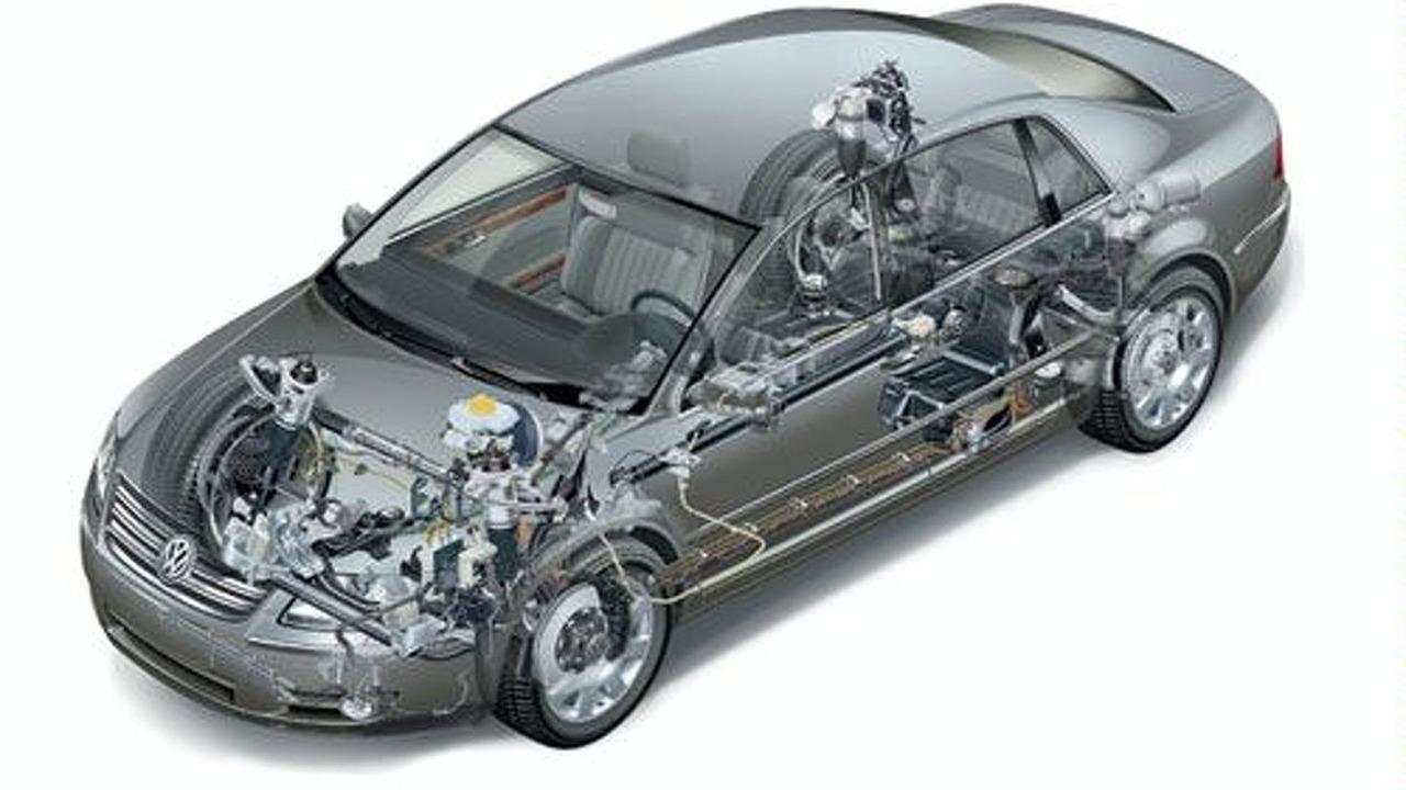 VW Phaeton cutaway 4Motion