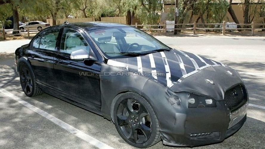 Jaguar XF-R Test Mule Spy Photos