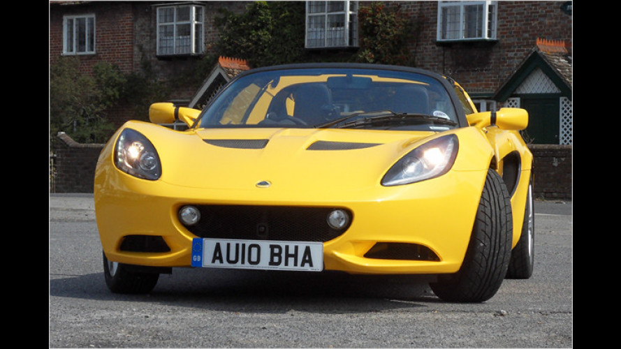 Lotus Elise mit neuem Motor: Wenn das Lenkrad Pogo tanzt