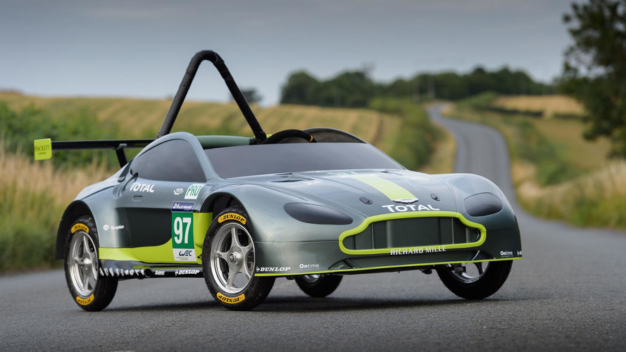 This Is The New Gravity-Powered Aston Martin Race Car