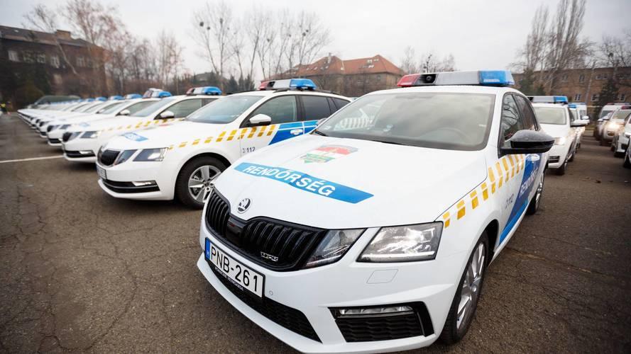 Ismét új autókkal bővítette flottáját a rendőrség