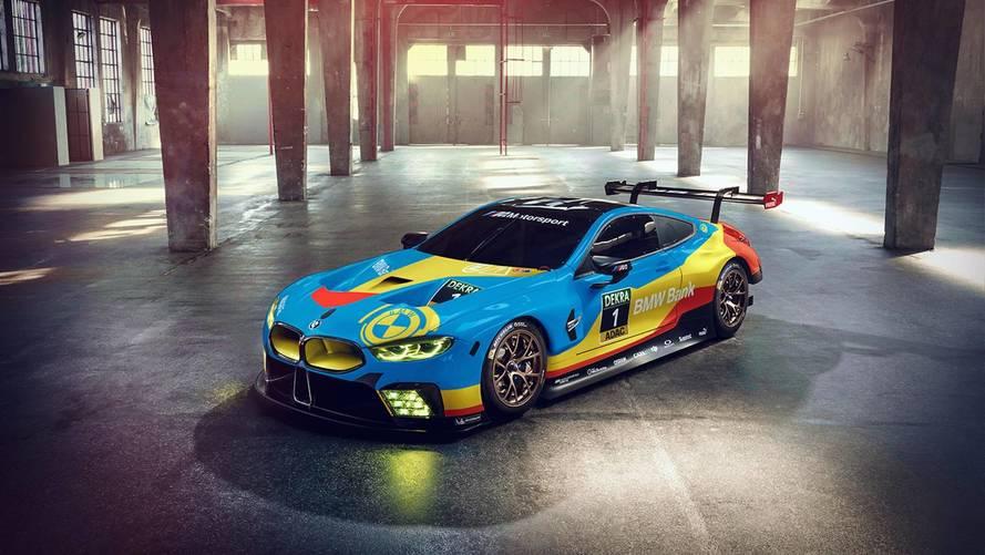 BMW M8 dijital olarak