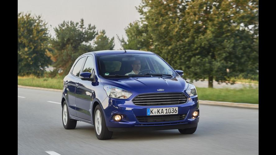 Ford Ka Plus, la nuova 5 porte