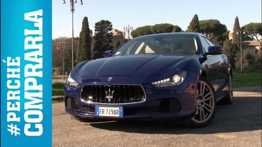Maserati Ghibli, perché comprarla... e perché no [VIDEO]