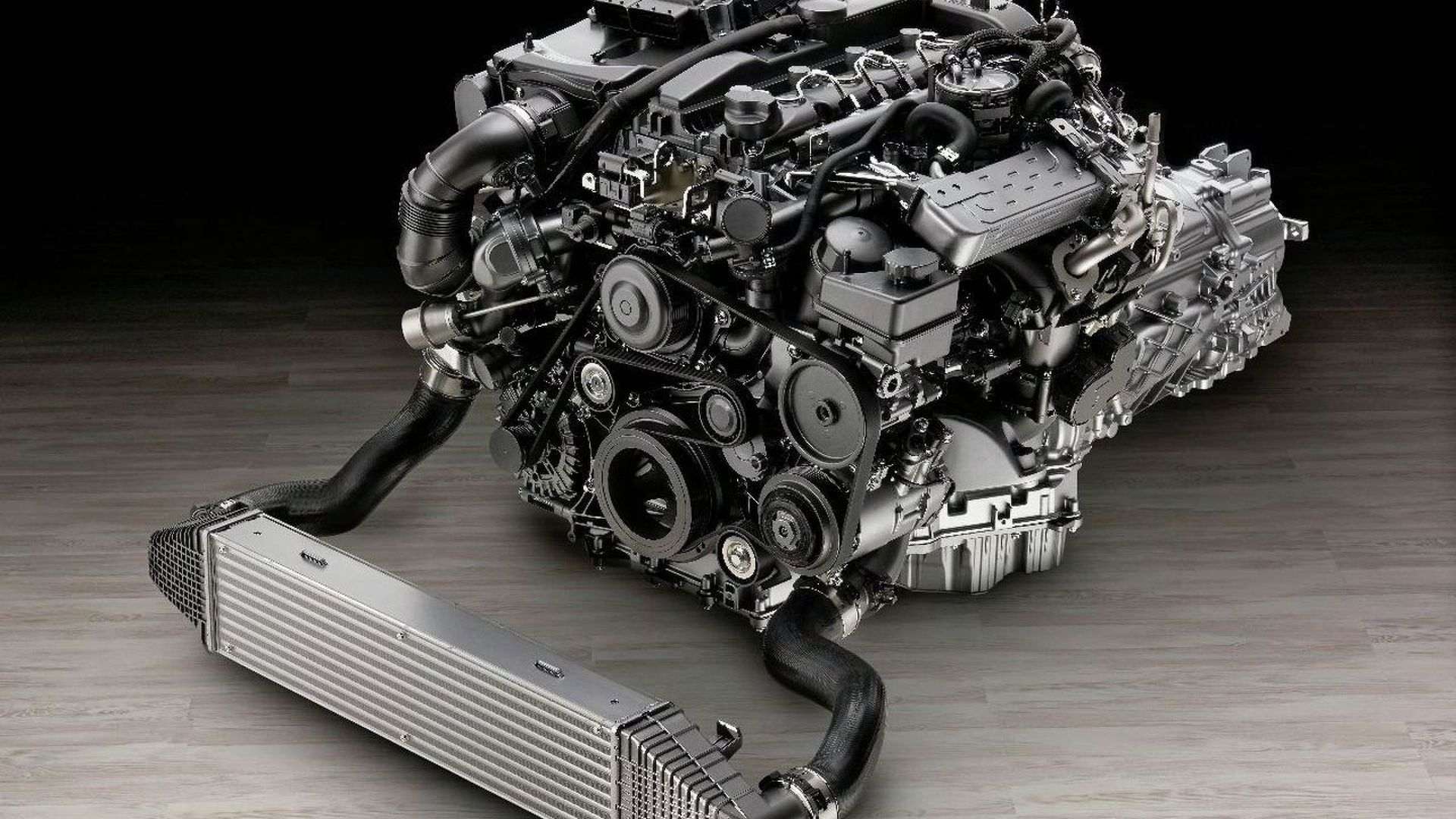 New Mercedes 4 Cylinder Diesel Engine