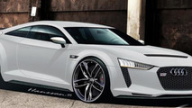 2014 Audi TT Ultra speculative artist rendering 29.03.2013