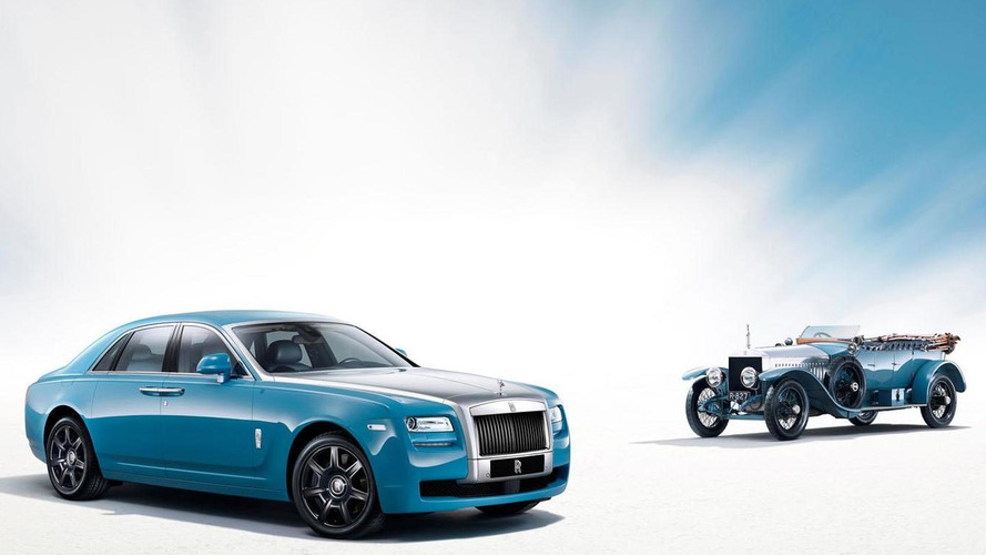 Rolls-Royce Ghost Alpine Trial Centenary Edition announced for Auto China