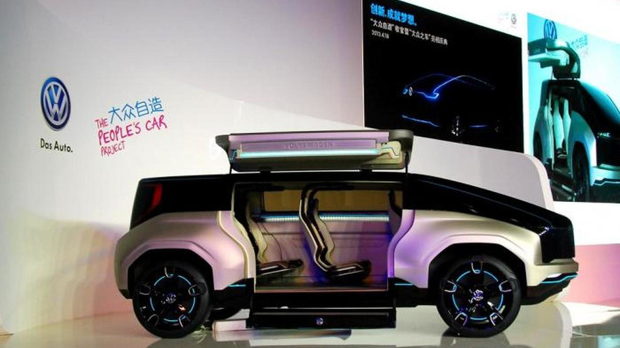 Volkswagen 4Fun concept revealed in Shanghai