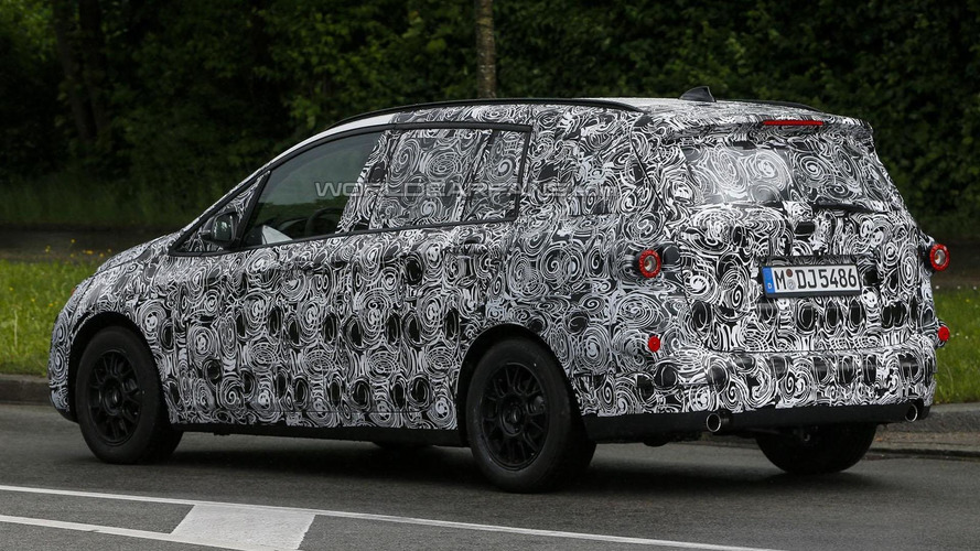 BMW 1-Series GT seven-seater spied