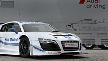 Audi R8 LMS ultra Real Madrid edition 19.11.2012