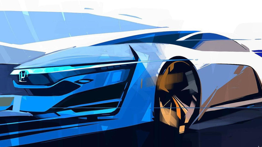 Honda FCEV concept teased for L.A. debut
