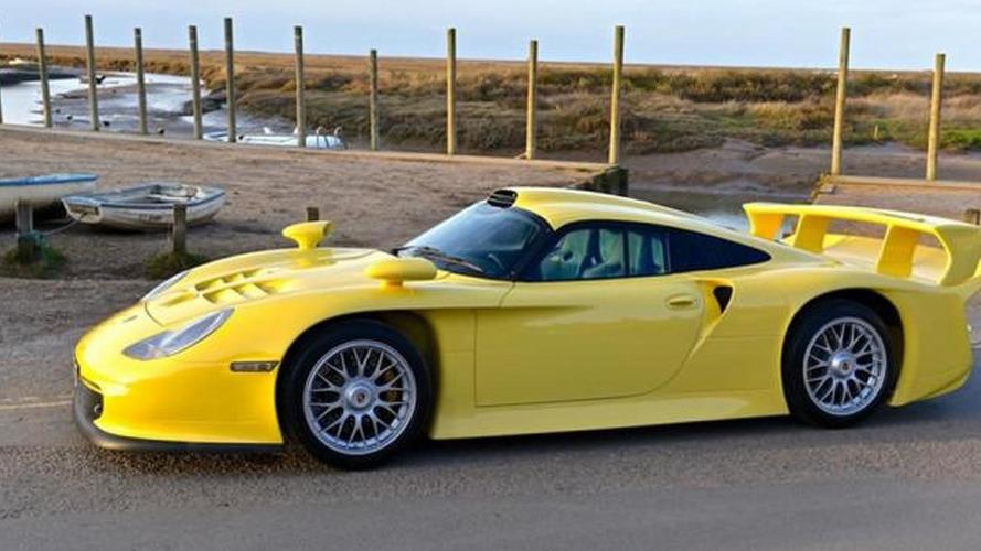 Limited edition 1998 Porsche 911 GT1 Strassenversion on sale in UK